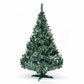 Елха 180 см - фолийна, зелена, с бял връх, в кутия