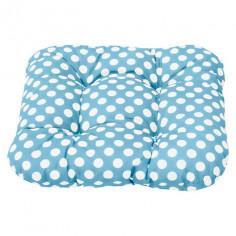 Възглавница, 38х38х8 см, синя