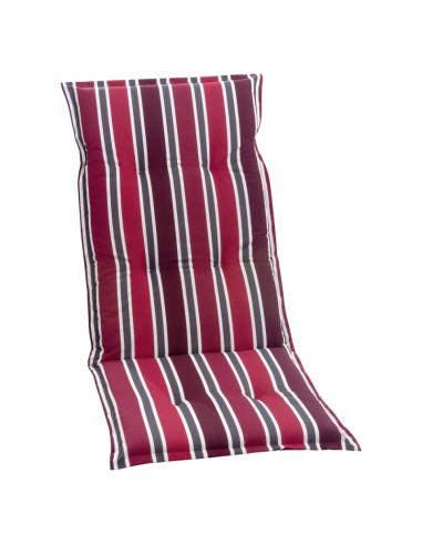 Възглавница за висок стол, червено рае - 117x49x6 см
