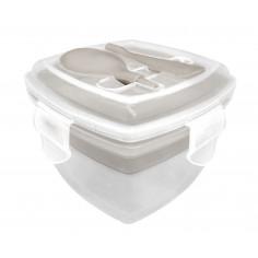 in Bouquet/Nerthus Комплект двойна кутия за храна с прибор