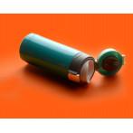 """Двустенен термос с вакуумна изолация """"MINI DIVA"""" - 200 мл - цвят черен - ASOBU"""