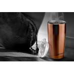 """Двустенна термо чаша с вакуумна изолация """"GLADIATOR"""" - 600 мл - цвят мед - ASOBU"""