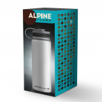 """Двустенна термо бутилка с вакуумна изолация """"ALPINE"""" - 530 мл - цвят бял - ASOBU"""