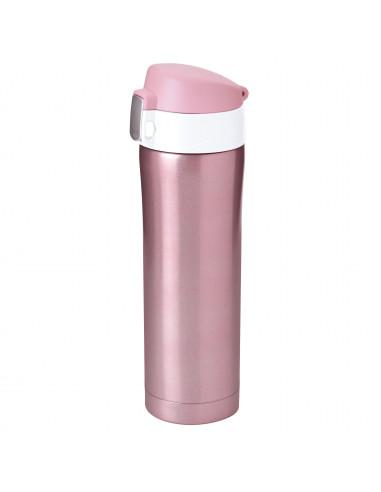 """Двустенен термос с вакуумна изолация """"DIVA"""" - 450 мл - цвят розов - ASOBU"""