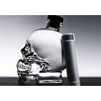 """Двустенна термо бутилка с вакуумна изолация """"SKINNY MINI"""" - 230 мл - цвят черен - ASOBU"""