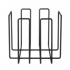 Стойка / поставка за вестници и списания WIRES - цвят черен - Blomus