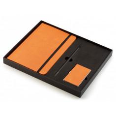 """Бизнес подарък """"NOTES"""" от 3 части - тефтер, молив и визитник -  Philippi"""