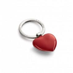 """Ключодържател сърце """"SWEETHEART"""" - червено / хром -  Philippi"""