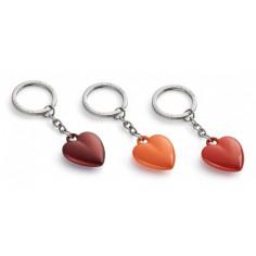 """Ключодържател сърце """"COEUR"""" - цвят оранжев -  Philippi"""