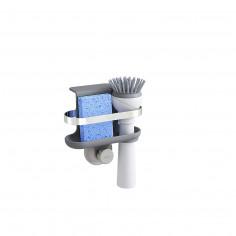 """Imagén: Органайзер за мивка """"HOLSTER"""" - за гъба и четка - цвят сив - Umbra hk limited"""