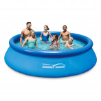 Басейн Summer Waves Quick Set 3.66х76см. с надувем борд и филтрираща помпа 2271л