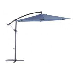 Градински чадър - тип камбана - тъмно син