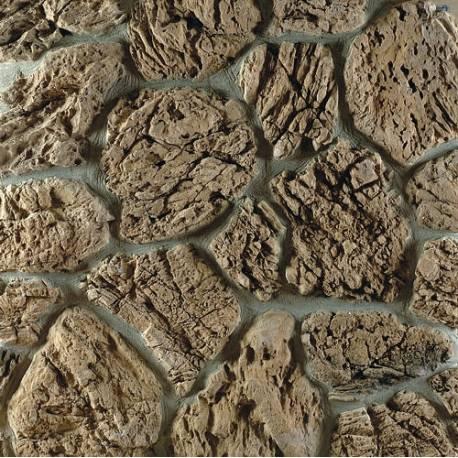 Изкуствен камък Терра - кафяв