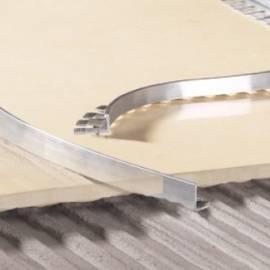 Алуминева лайсна за фаянс и теракота LP 10-CO-25