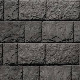Декоративни панели Дялан камък - 120 x 20 x 3,3 см, цвят тъмно сив