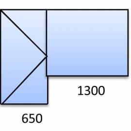 PVC прозорец и врата - 3 камерна цветна
