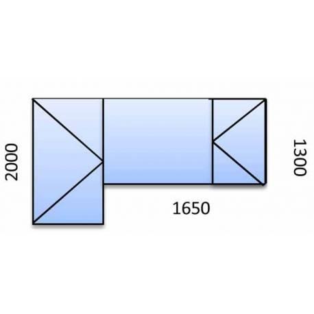 PVC прозорци и врата - 3 камерна цветна