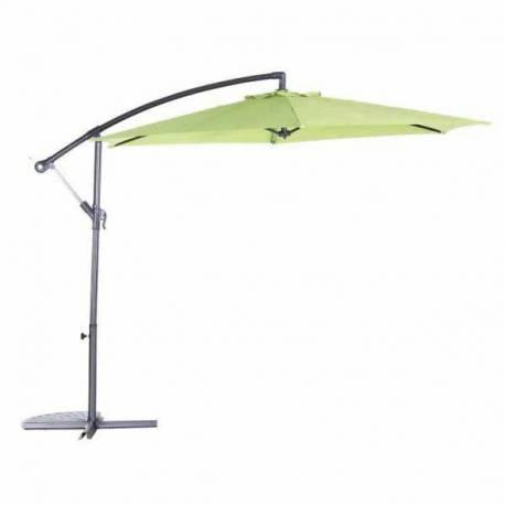 Градински чадър - тип камбана - зелен