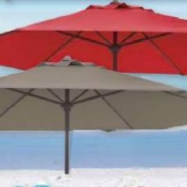 Градински чадър - кафяв 3 м
