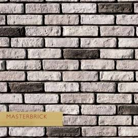 Декоративни тухлички MASTERBRICK -White grained