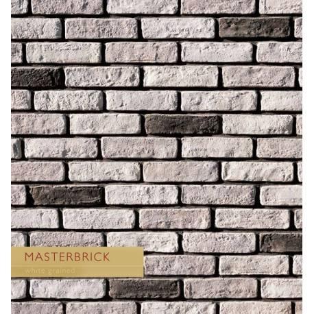 White Grained - тухлички - MASTERBRICK
