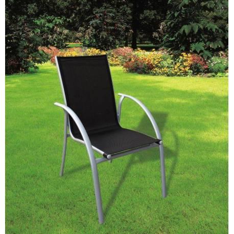 Градински стол Амик - черен