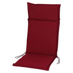 Възглавница за стол  - Бордо, 121x47x4 cм