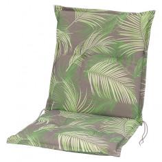 Възглавница за стол - Зелена/сива/бежова, 98x49x6 cм