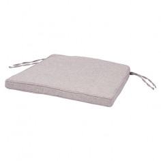 Възглавница за сядане - Светлосива, 48x45x4 cм