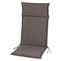 Възглавница за стол  - Сива, 121x47x4 cм