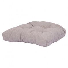 Възглавница за сядане - Светлосива, 48x48x10 cм
