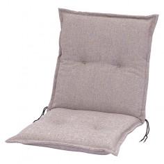 Възглавница за стол - Светлосива, 95x48x8 см