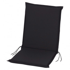 Възглавница за стол  - Черна, 100x45x4 cм