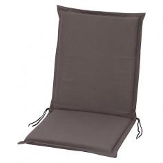 Възглавница за стол  - Сива, 100x45x4 cм