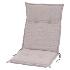 Възглавница за стол - Светлосива, 109x50x8 см
