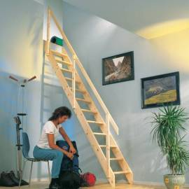 Imagén: Права таванска стълба