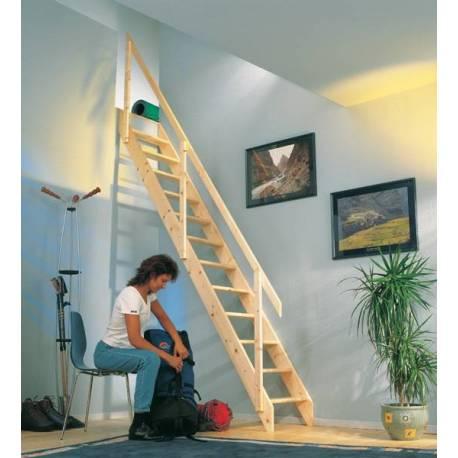 Права таванска стълба