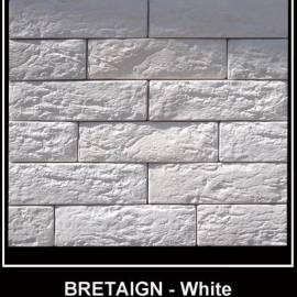 Бретан White, бял