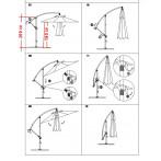 Схема  на чадър камбана