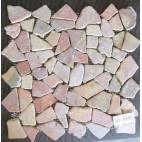 Мозайка естествен камък - 30 x 30см