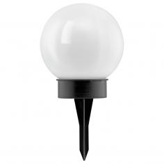 Соларна лампа 4х0,06 бяла топка Ф300 + колче