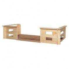 Тераса за дървена къща - Stockholm и Helsinki -3 x 1.5 m