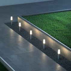 Градински комплект - светлинна верига LED спот - 5 бр