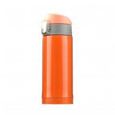 """Двустенен термос с вакуумна изолация """"MINI DIVA"""" - 200 мл - цвят оранжев - ASOBU"""