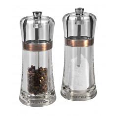 "Комплект мелнички за сол и пипер ""FONTWELL"" - 14 см. - цвят мед - COLE & MASON"