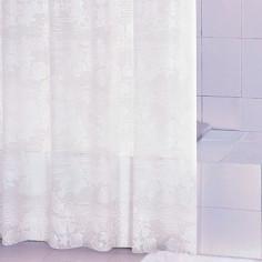 Завеса за баня бяла, 180х200 см