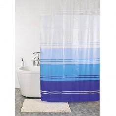 Завеса за баня бяла-синя,...