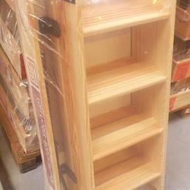 Таванска стълба - 110 X 70 см - най-големият монтажен размер