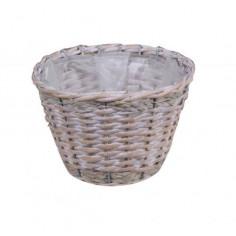 Плетена кашпа - ØxВ: 25х19...