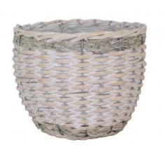 Плетена кашпа - ØxВ: 28х24...